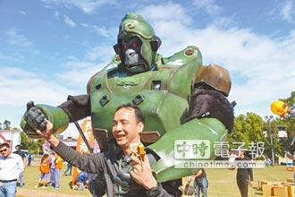 新北創客市集 找回台灣製造精神 朱立倫讚學生有創意