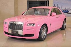Rolls-Royce 精選Bold Pink 添浪漫話題