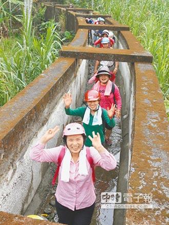 探索龍泉圳古隧道 500人驚呼連連