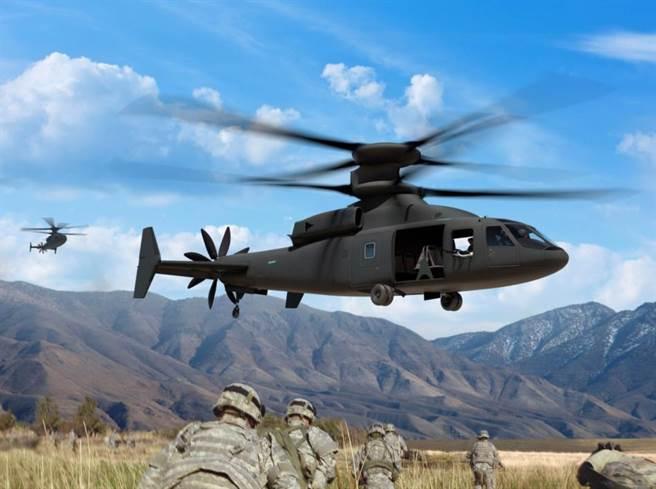 塞考斯基SB-1,競爭美國下一代陸軍運輸直升機。(圖/塞考斯基公司)