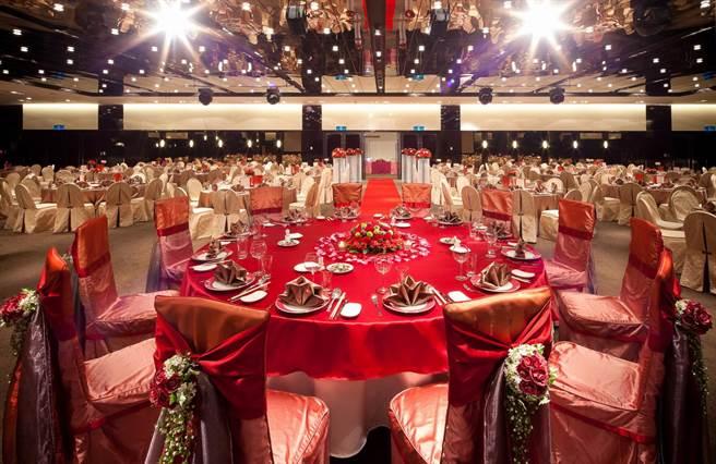 天成大飯店TICC世貿會館宴會廳。圖:天成提供