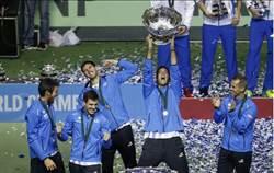 台維斯盃》迪波卓領軍 阿根廷逆轉勝捧首冠