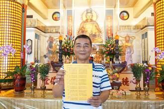 五甲關帝廟國運籤:景氣復甦 兩岸修復
