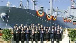 南韓萬噸支援艦下水