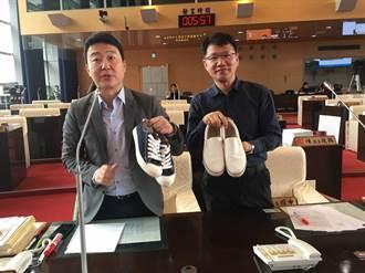 中市仍有學校有鞋禁 市議員陳世凱關切