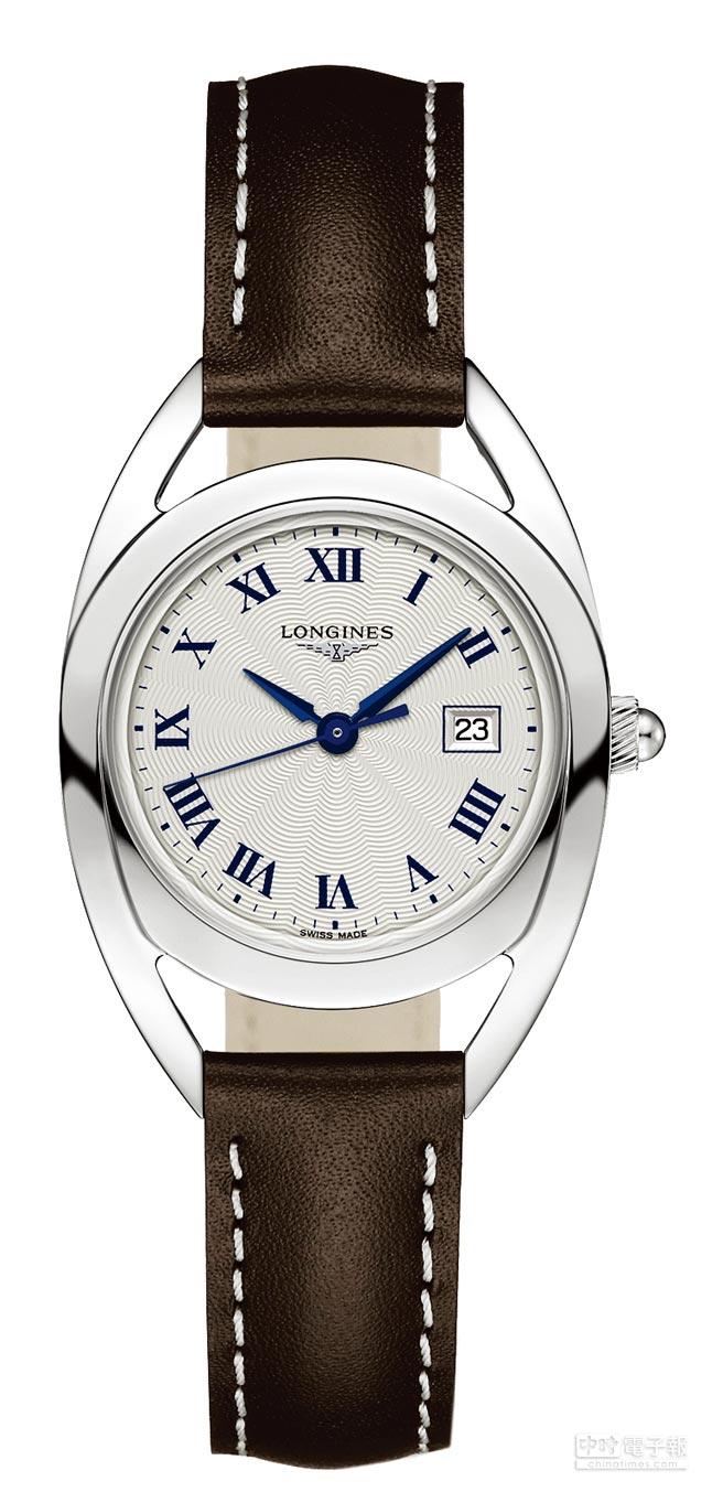 LONGINES騎士系列馬蹄造型腕表,3萬8000元。