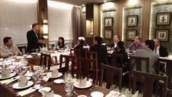 俞大?夫婦與巴拉圭國會眾議員歡聚