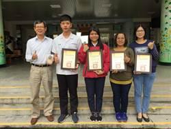 內埔農工學生參加全國競技 獲2項金手獎
