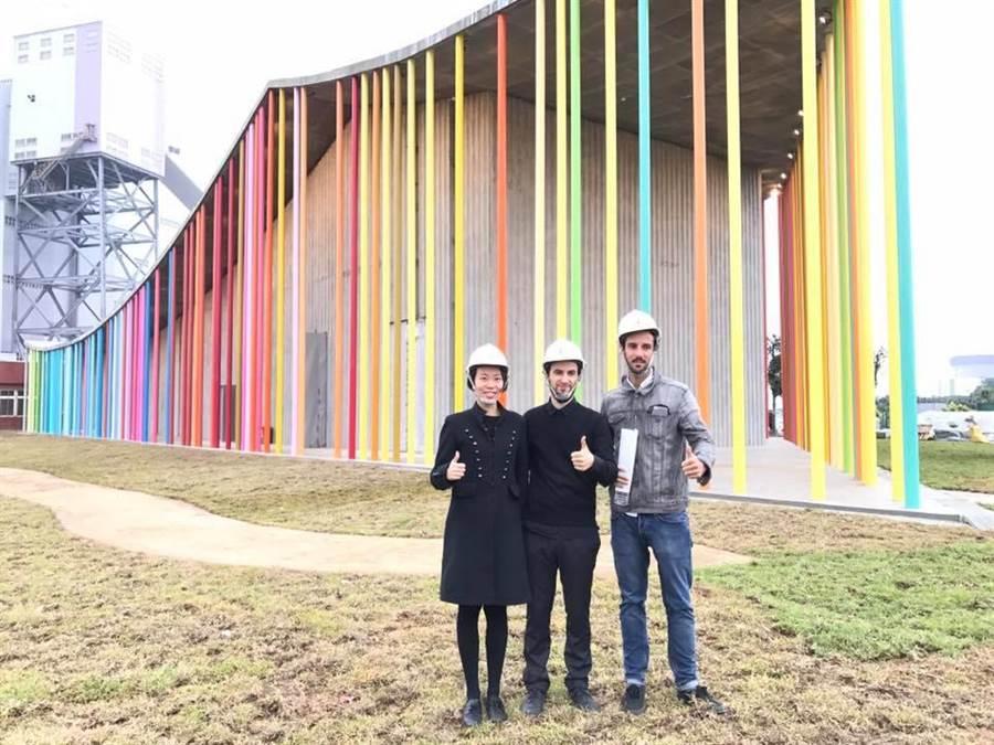 下福市民活動中心由程俊強建築師及西班牙建築師萊恩IMO團隊設計。(陳心瑜攝)