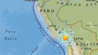 祕魯發生6.3淺層地震 房屋通訊受損