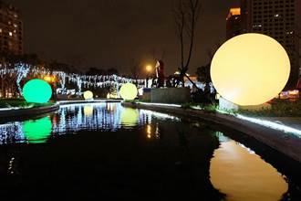 360度環景地圖 輕鬆遊耶誕城 遊妖怪手錶電影進駐萬坪公園