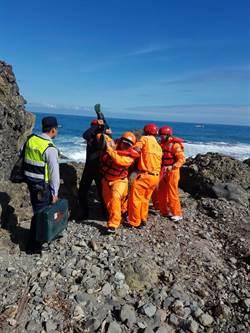 花蓮釣客失足墜海 撞礁石頭部嚴重受創亡