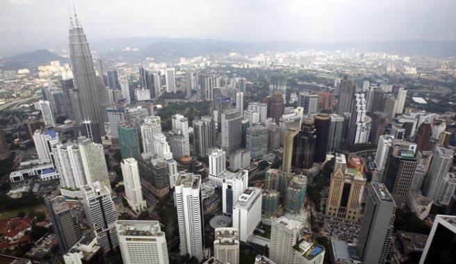 台灣過去曾掀起一波赴馬來西亞吉隆坡置產的熱潮。(美聯社)