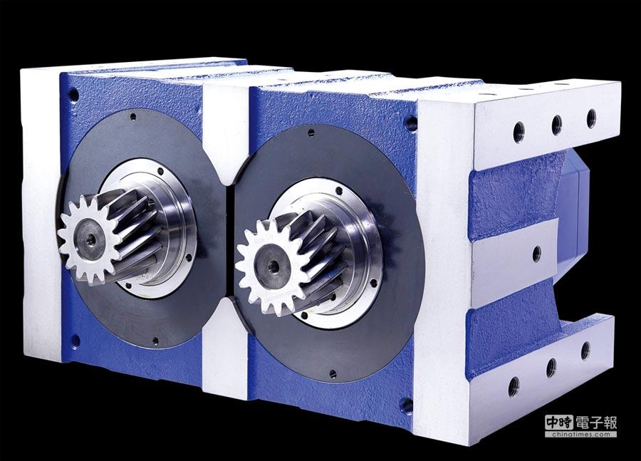 晶杰精机最新推出的伺服电机消隙减速机。图/业者提供