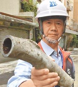 鉛管汰換進度達標 剩逾5000戶