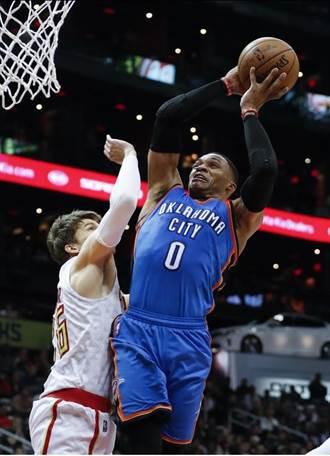 NBA》11次大三元 韋少隻手對抗全聯盟