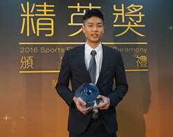 羽球男將周天成 獲最佳男運動員精英獎