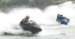 水上摩托車南寧拚戰 皖鄂大贏家