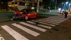兩車互撞  賓利車酒駕男送辦