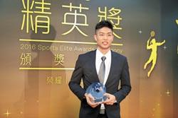 羽球周天成 獲選最佳男運動員