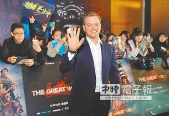 麥特《長城》打怪心懸台灣 暖爸帶4個女兒大陸拍戲
