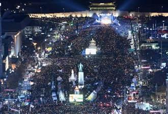 反朴槿惠 首爾80萬群眾集會