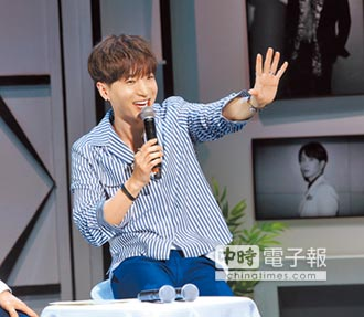 SJ利特:無法遺忘台灣 活潑談笑「胸肌Up 粉絲嘴角Up」