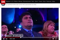 CNN年度英雄 腦痲男:上帝選我幫助人