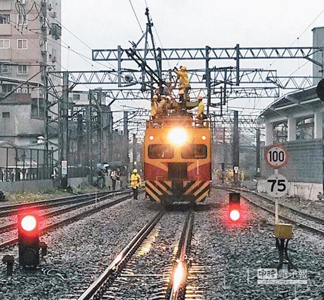 950億桃園鐵路地下化(資料照片)