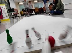 小英总统贺电 机器人打保龄曲球虎科大世界第一