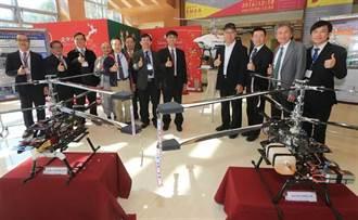 逢甲研發同軸雙旋翼載具 修平設置智慧趕鳥系統