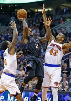 NBA》羅斯背部痙攣傷退 尼克延長不敵太陽