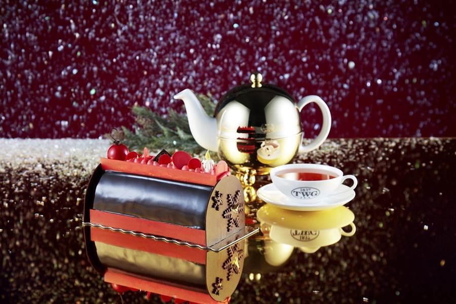 TWG Tea茶風木材蛋糕