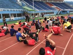 田徑》新加坡體育學院田徑隊 來台移訓一周