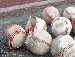 嘉義青商會培養棒球種子 偏鄉3校喜獲球具