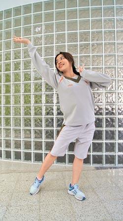 蔡品蓁挑戰古典舞 跳出自信