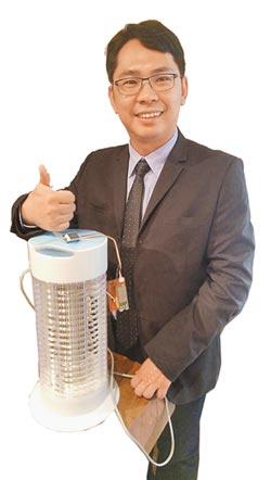 成大與聯發科合作 科技防疫各里設智慧捕蚊燈