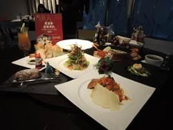 靈鷲山蔬食餐廳推出耶誕套餐