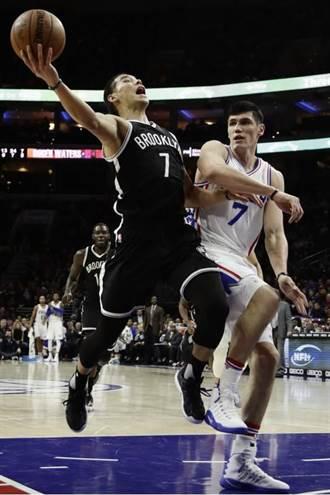 NBA》豪哥16分4助攻 籃網被七六人逆轉吞2連敗