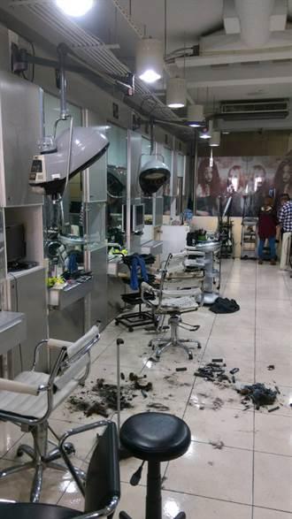 台中市婦人燙頭髮被燒傷  送醫救治