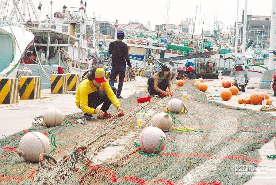 東港漁會總幹事林漢丑指出,「福賜群號」案是個案,不能以偏概全,重創台灣漁業形象。(林和生攝)