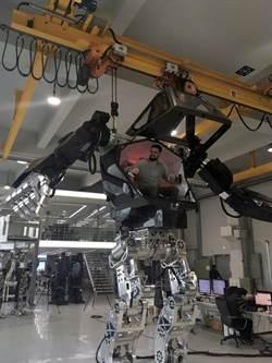 科幻電影成真 南韓開發巨大雙足機器人