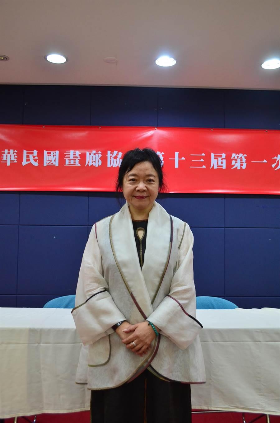 鍾經新當選第13屆中華民國畫廊協會理事長。(畫協提供)