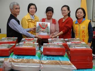歲末送暖 1.5萬斤平安米贈竹縣弱勢
