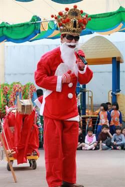 全球唯一 聖誕王爺舞龍報佳音