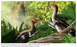 新發現:有些恐龍幼時吃肉長大吃素