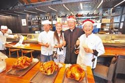 牛耳藝術渡假村散播愛 分送火雞肉刈包 千人溫飽