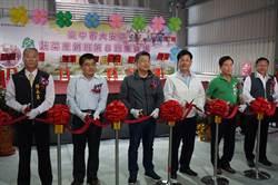 「安溪芋」集貨場啟用 方便農民洗選包裝