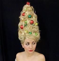 今年耶誕 應景髮型優雅又時尚