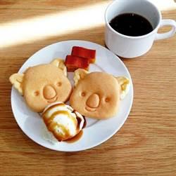 親愛的、我把小熊餅乾變大了!來去吃「樂天小熊鬆餅」